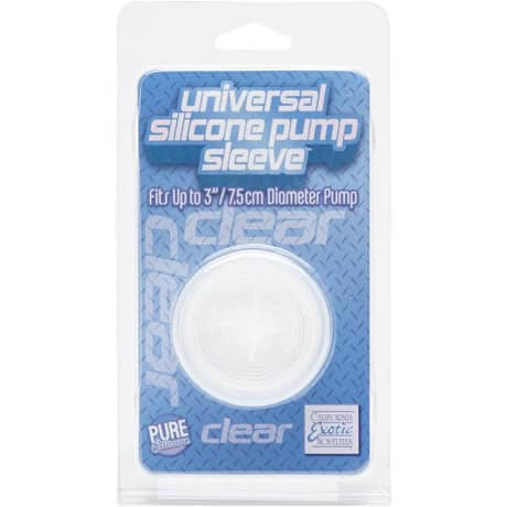 CalExotics universal silicone pump sleeve Fits Up to 3″ / 7.5cm Diameter Pump