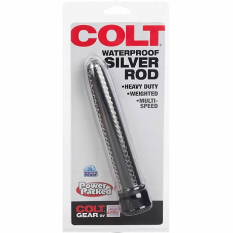COLT WATERPROOF SILVER ROD Chain Anal Vibrator