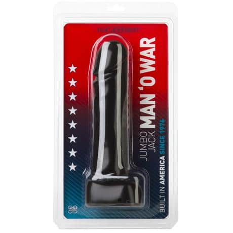 DOC JOHNSON Jumbo Jack MAN O' WAR Dildo