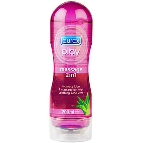 durex play massage 2in1 intimate lube & massage gel with soothing Aloe Vera 200ml