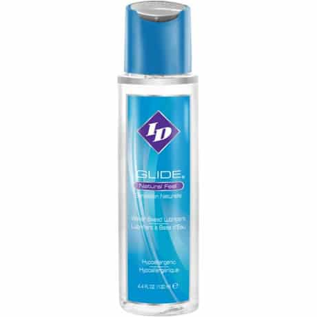 ID GLIDE Natural Feel Water Based Lubricant 4.4 fl oz / 130ml