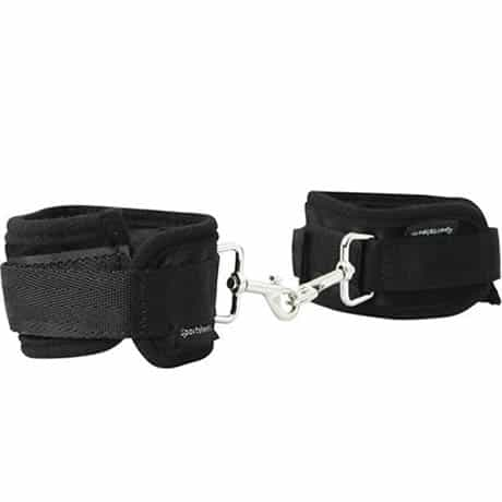 Sportsheets Expandable Spreader Bar and Cuffs Set