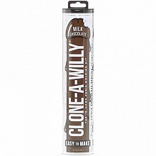 CLONE-A-WILLY Milk Chocolate Penis Casting Kit
