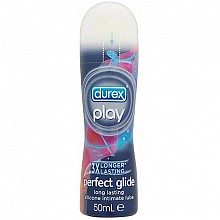 durex play perfect glide long lasting silicone intimate lube 50ml
