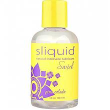 sliquid natural intimate lubricant Swirl pina colada 4.2oz / 125ml