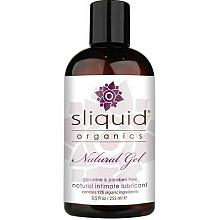 sliquid organics Natural Gel glycerine & paraben free natural intimate lubricant 8.5fl oz / 255ml