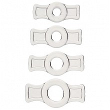 TitanMen C-RING SET Stretch to Fit Cock Ring Set